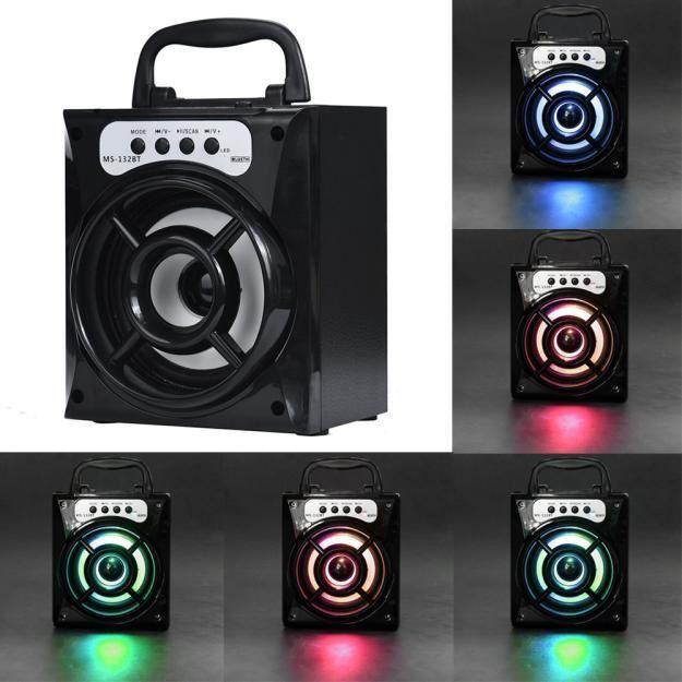 Thanksgi® Extérieur Sans Fil Bluetooth Haut-parleur Portable Super Bass Avec Radio Usb - Tf Aux Fm_1638