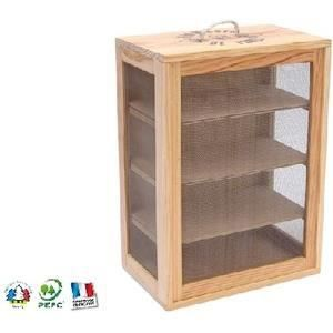 garde manger en bois grand mod le achat vente boites de conservation garde manger en bois. Black Bedroom Furniture Sets. Home Design Ideas