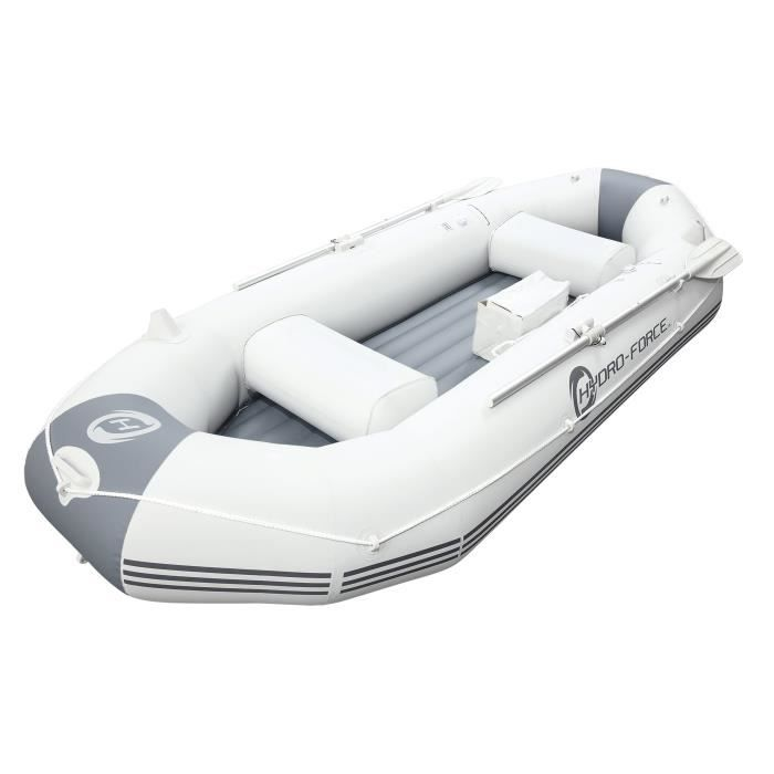 ANNEXE GONFLABLE BESTWAY Bateau Gonflable Marine Pro + 2 rames + Po