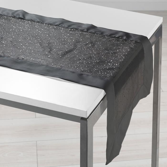 sets et chemin de table noir - achat / vente sets et chemin de