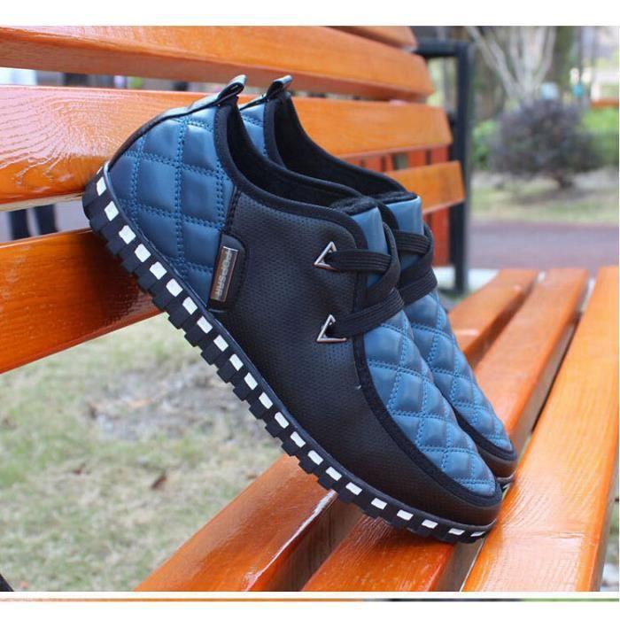 chaussures pour hommes de marque de mode homme Sneakers toile pour hommes, chaussures de sport quotidiennes Printe…