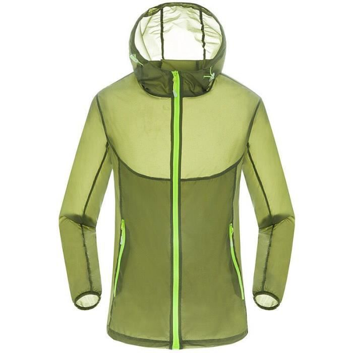 Coupe vent running homme grande taille
