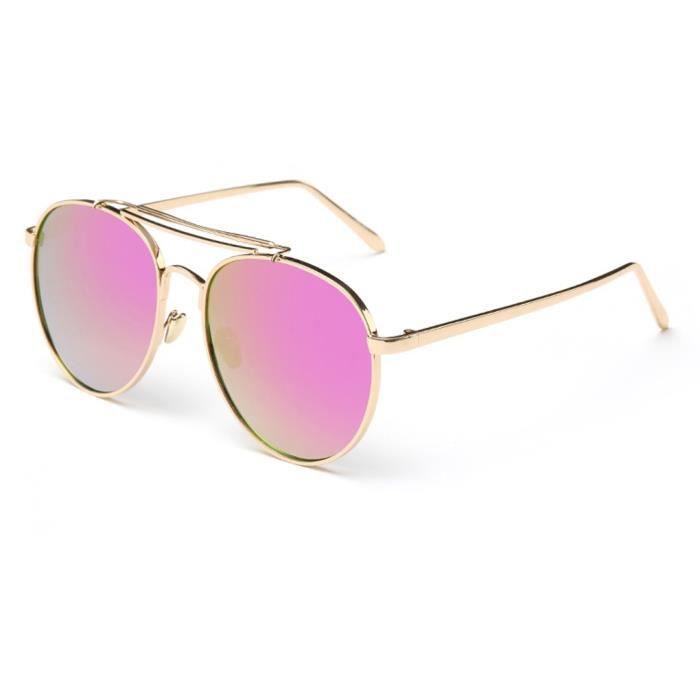 Nouveau mode frame Métal Lunettes de soleil rétro unisexe lunettes NO.4