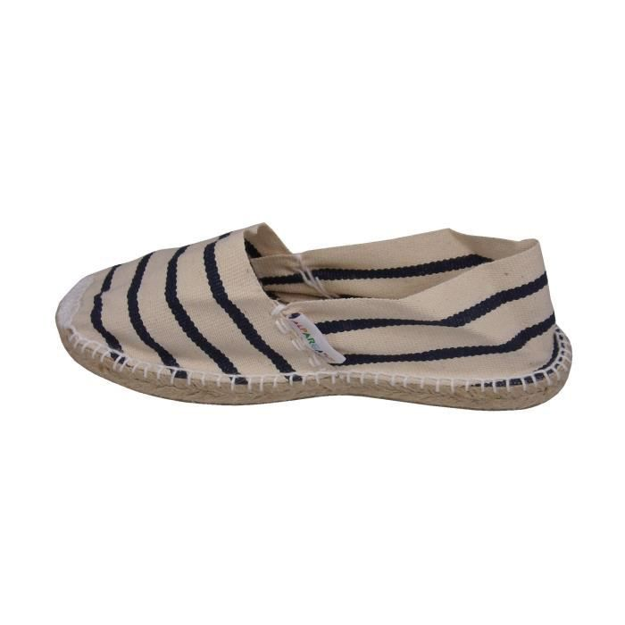 Espadrille Crude Stripes Blue S7NTF Taille-42 1-2