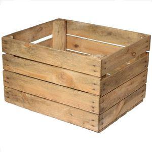 caisse de rangement bois achat vente pas cher. Black Bedroom Furniture Sets. Home Design Ideas