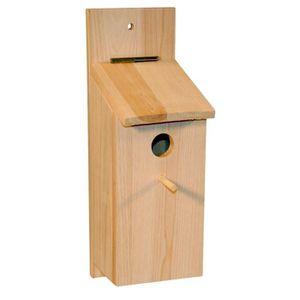 KERBL Nichoir - Kit ? monter soi-m?me pour oiseaux - 36x12x14cm