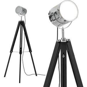 LAMPADAIRE  lampadaire lampe sur pied (1 x socle E27)(réglabl