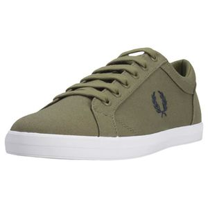 Fred Perry Table Tennis Reissue Hommes Baskets Acajou rouge - 7 UK swb2RkXjh