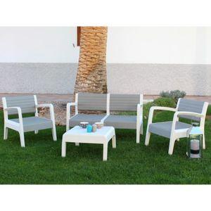 Salon de jardin PVC - Achat / Vente Salon de jardin PVC pas cher ...