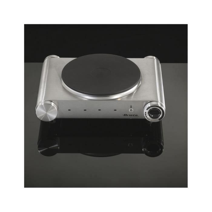ARIETE 993 Plaque de cuisson posable en fonte - Inox 21965afd0dad