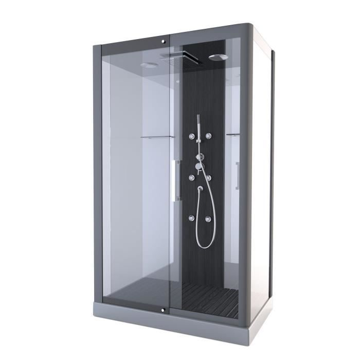 aurlane cabine de douche pure rectangle 115x90cm achat. Black Bedroom Furniture Sets. Home Design Ideas