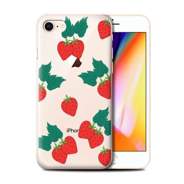 coque iphone 8 fraise