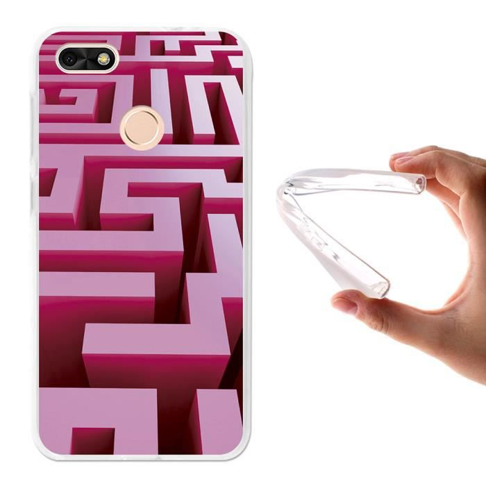 huawei y6 pro 2017 coque rose