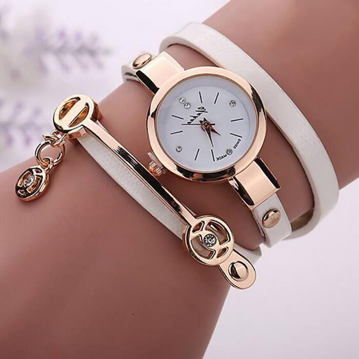 bracelet montre femme achat vente pas cher. Black Bedroom Furniture Sets. Home Design Ideas