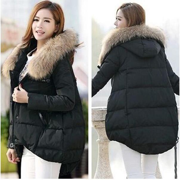meilleur service f2821 375f2 Mode femme grande taille manteau d'hiver concep...