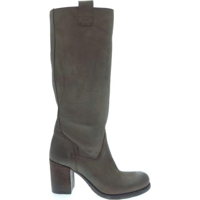 Geste' Boot Femme Black Mud