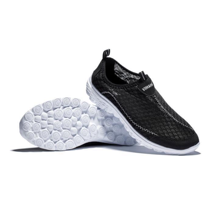 Mocassin Homme Ete Nouvelle Chaussures Confortable Classique Marque De Luxe Respirant Occasionnelles Taille 41