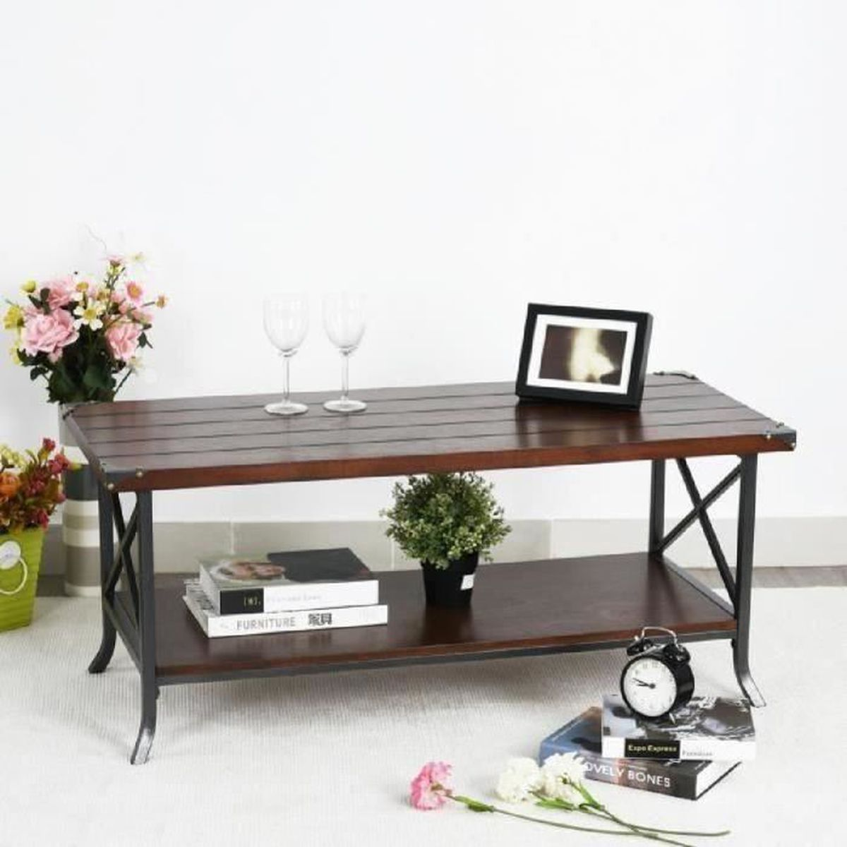 Table Basse Console Great Salons With Table Basse Console Top