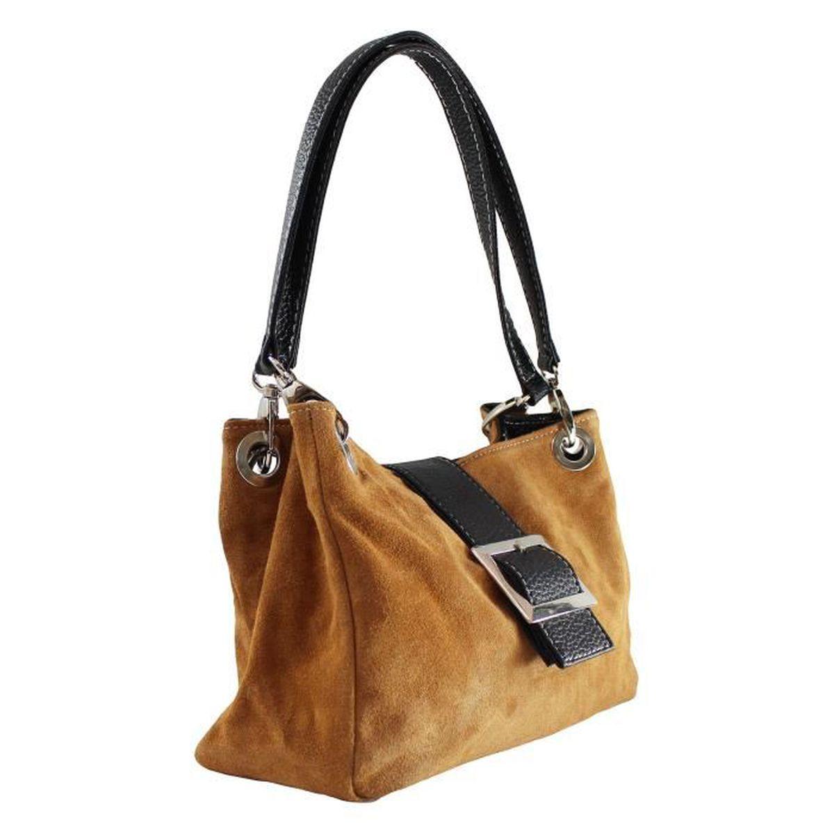 de en à daim Pochette main CTM pour Petit cuir femmes véritable sac wzgXg0q