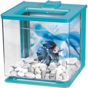 AQUARIUM MARINA Aquarium Ez Care pour betta - 2,5 L - Bleu