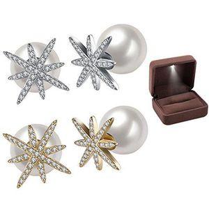7afb6f65deb Boucle d oreille Boucles d oreilles perles brillantes pour femmes S