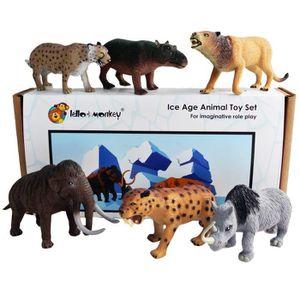 TAPIS Ice Age pré-historiques Figures jouet en plastique