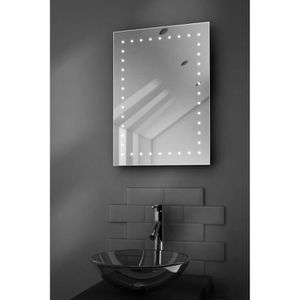 Miroir de salle de bain avec eclairage et prise - Achat / Vente ...