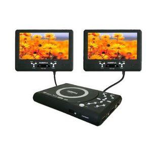 lecteur dvd portable double ecran lecteur dvd portable. Black Bedroom Furniture Sets. Home Design Ideas