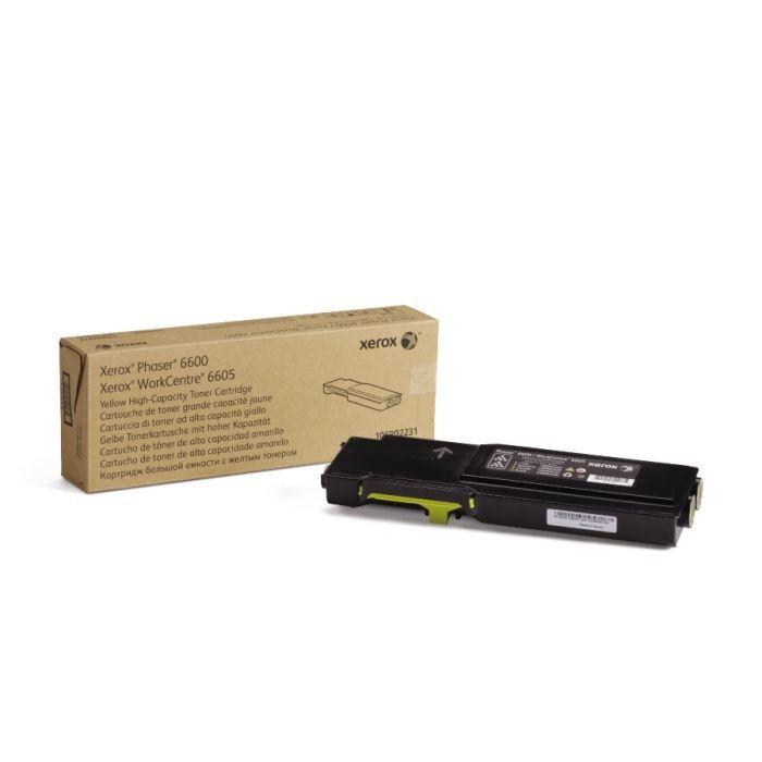 Xerox Phaser 6500 WC6505 Toner Laser Jaune (1000 p