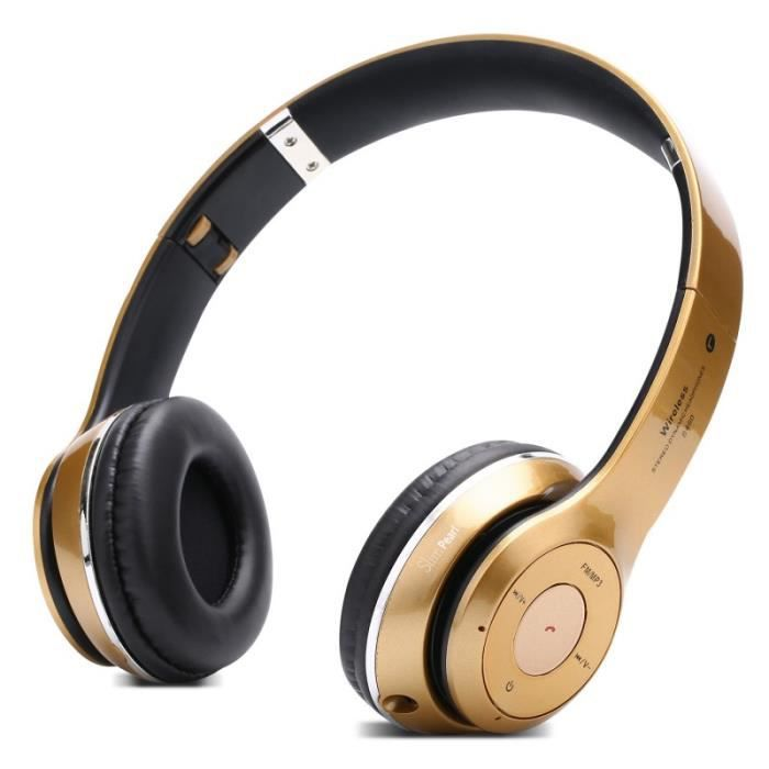 Casque Bluetooth Multi-fonction Wus 4 Universel