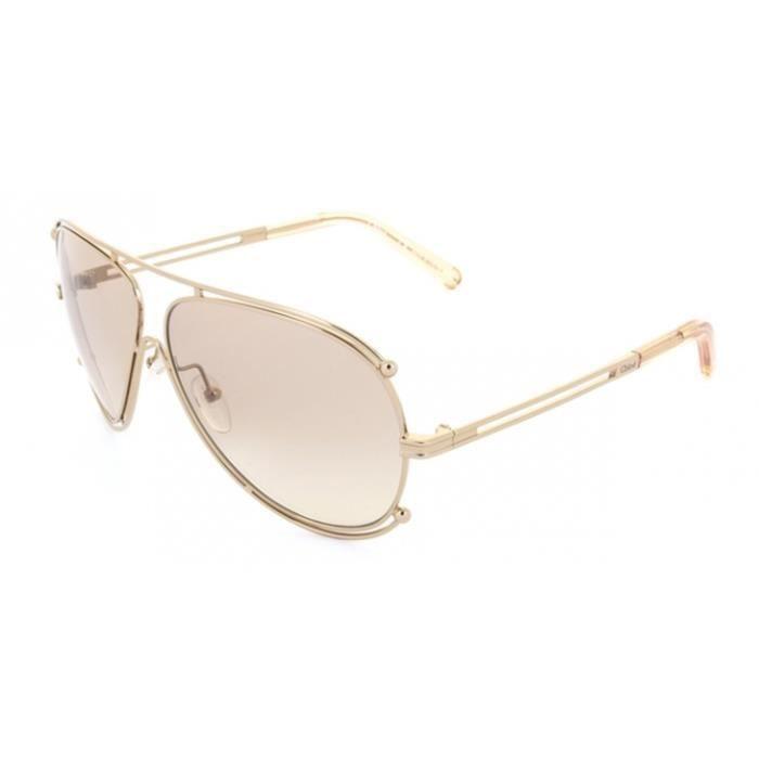 8dcd9a770920b Lunettes de soleil Chloe CE121S Doré (785) - Achat   Vente lunettes ...