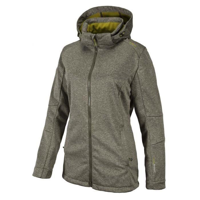 Vêtements Femme Vestes Cmp Softshell Jacket Zip Hood
