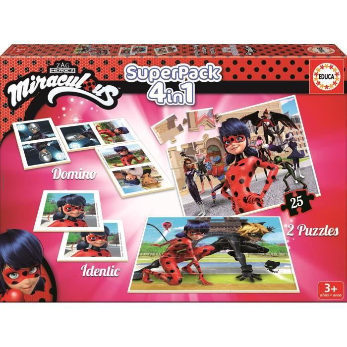 PUZZLE EDUCA  Puzzle Micraculous Ladybug
