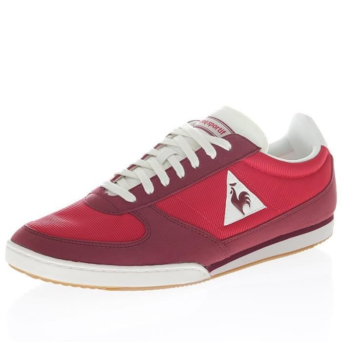 Chaussures Volley Gum Rouge Homme Le Coq Sportif