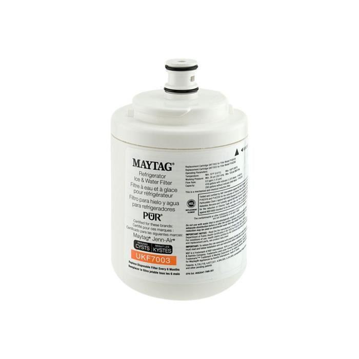 PIÈCE APPAREIL FROID  Whirlpool UKF7003 Filtre à eau pour réfrigérateur