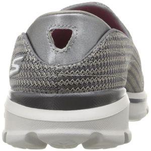 la Skechers de Walk Chaussures 1LWEO1 marche plates 1 38 Taille femme de 2 Go F1UqUxAR