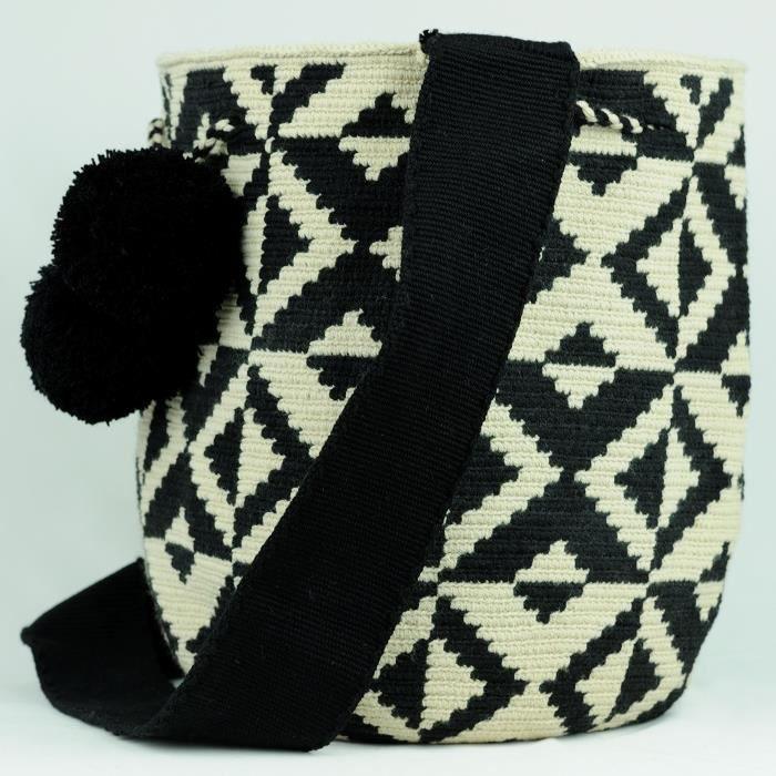 Wayuu Sac - Grand Mochila - Design - Collection - 3131 YURQ6