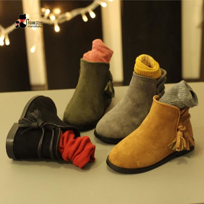 Enfants Chaussures bottine Bébé filles Mode