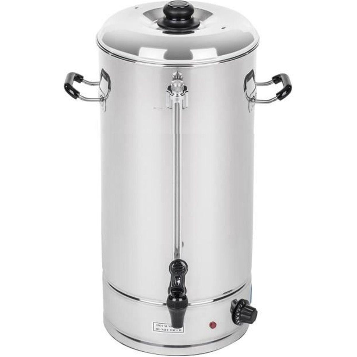 Bouilloire Isotherme concernant isotherme distributeur a boissons pro 20l café vin punch eau 119