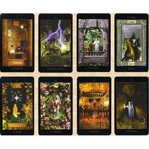 CARTES DE JEU Le Tarot Vision - Jeu de 78 Lames - Comprendre Les