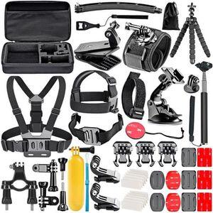 PACK CAMERA SPORT  Pour 50-en-1 Action Caméra Kit d'Accessoires pour