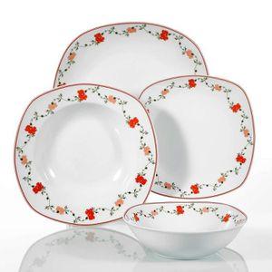66e4ddc274987d ASSIETTE VEWEET, série  Gloria , Service de table en porcel