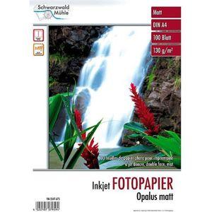 PAPIER PHOTO 100 feuilles papier photo double face mat A4 - 130