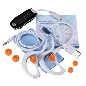 LECTEUR MP3 Rn 8GB Etanche MP3 Musique Lecteur FM + Cable Ecou