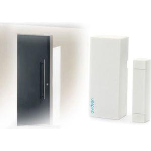 DÉTECTEUR D'OUVERTURE Détecteur d'ouverture sans fil portée 80m blanc
