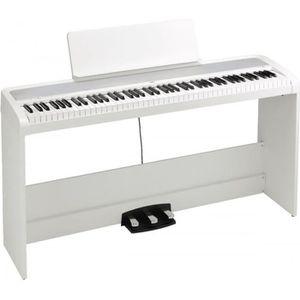 PIANO Korg B2SP blanc - Piano numérique 88 notes avec st