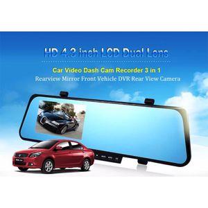 LECTEUR VHS nouvelle voiture dvr blue examen miroir dvr double