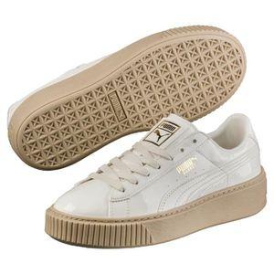 Puma Les chaussures de baskets de brevet de plate forme de