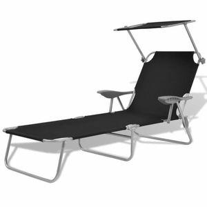 chaise longue accoudoir droit