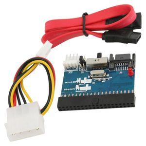 CÂBLE E-SATA ATA Adaptateur Convertisseur bidirectionnel IDE ve